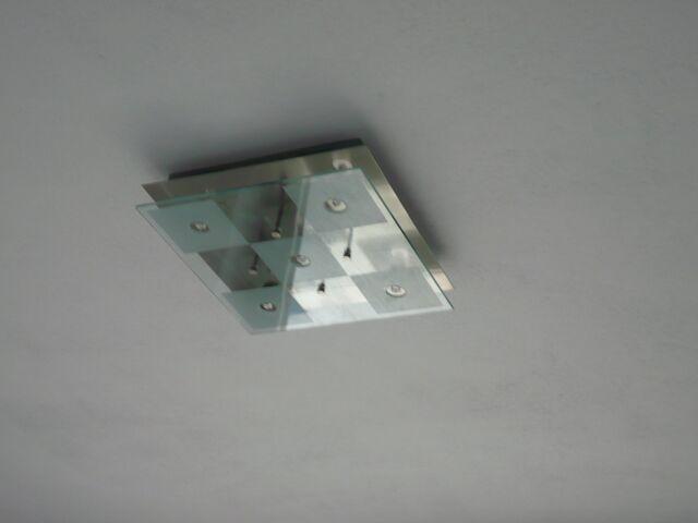 Stavba nášho domu - Lampa v kuchyni
