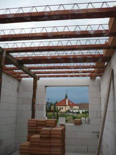 Stavba nášho domu - keramický stop