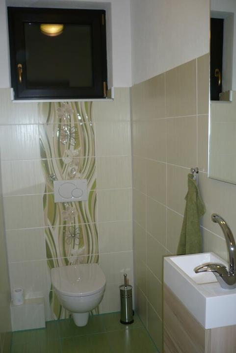 Stavba nášho domu - Dokončené wc