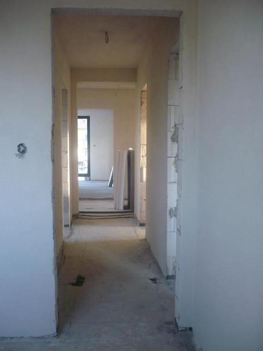 Stavba nášho domu - Chodba