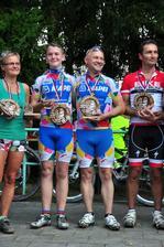 Vítězové s medailemi