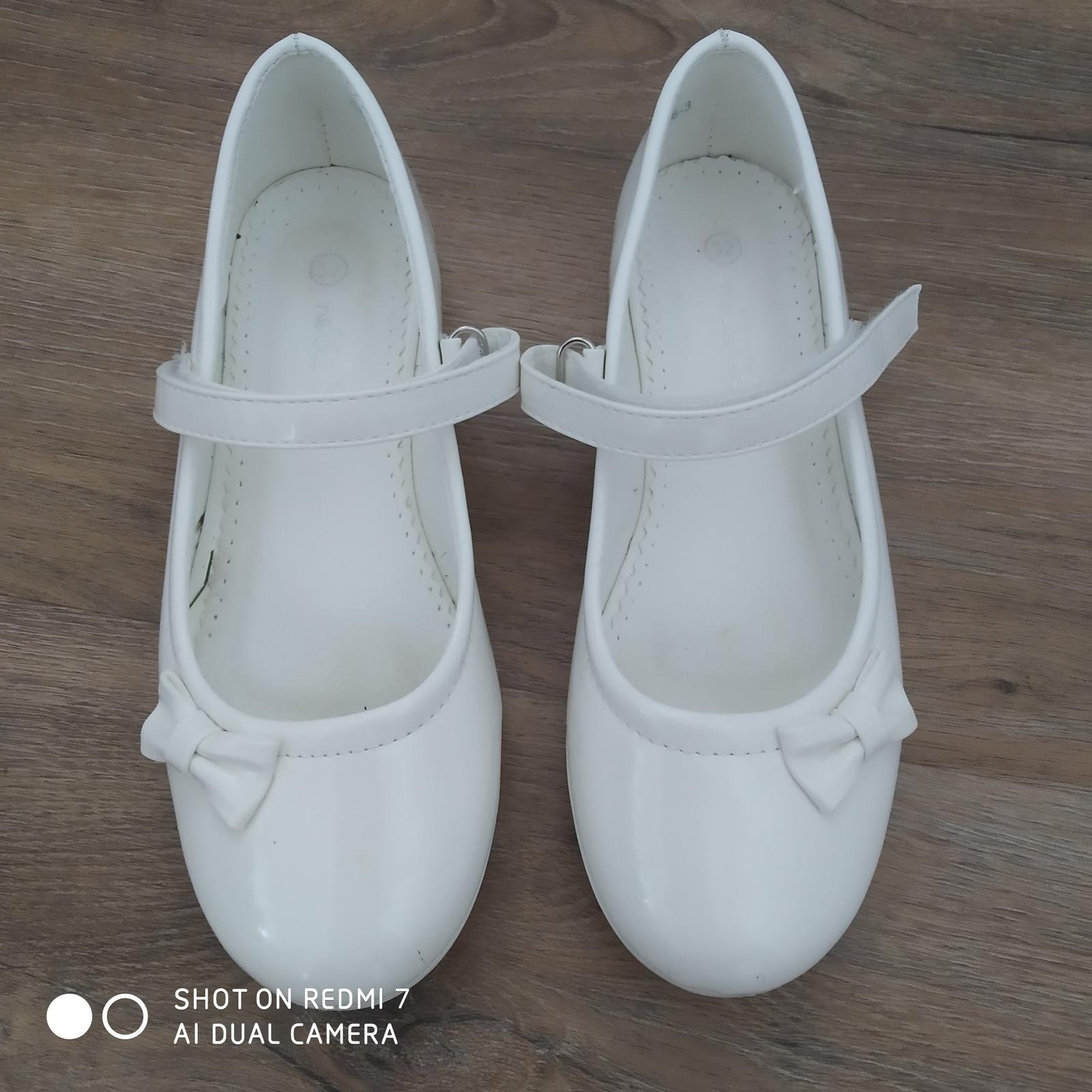 Svatební boty vel 32 - Obrázek č. 1