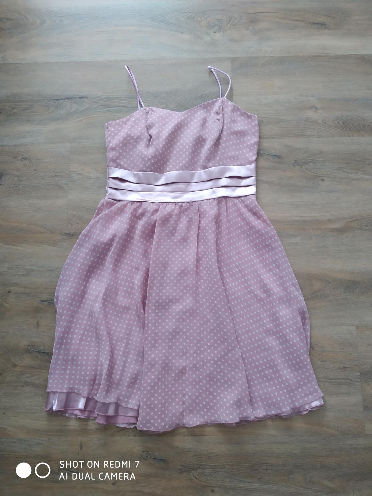 Popůlnoční šaty vel 38 - Obrázek č. 1