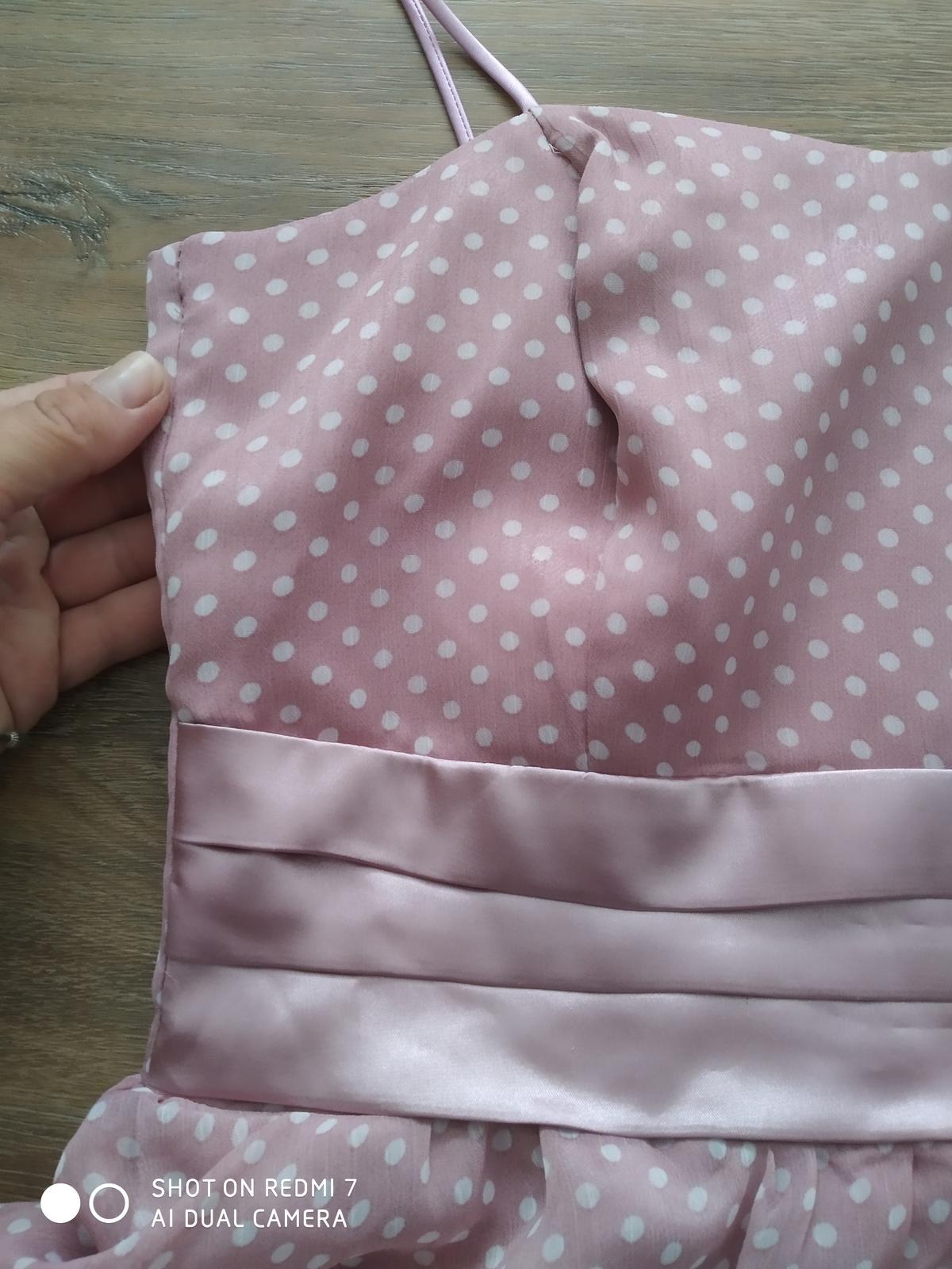 Popůlnoční šaty vel 38 - Obrázek č. 2