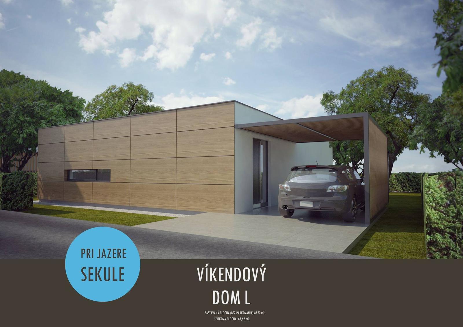Víkendové domy pri jazere v obci Sekule na záhorí - Obrázok č. 5