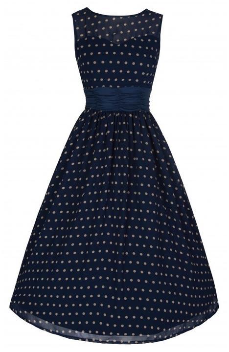 2dae49ed707e Námořnická svatba  Námořnické šaty  -) - LindyBop retro šaty Cindy ...