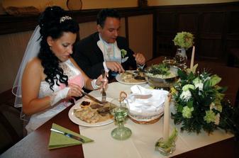 jídlo bylo skvělé, na Albertovci se o nás skvěle starali