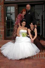 rodiče od nevěsty a ségra