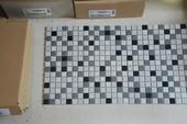 Bílošedá mozaika - 40 kusů ,