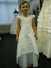 šaty pro malou družičku