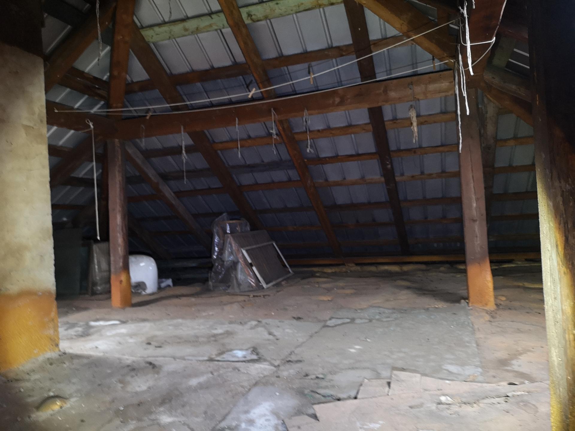 Původní, tedy stávající stav - Nevím zda nechat valbovou nebo vrátit zpět sedlovou střechu, ta tu byla před tím...líbila se mi teda víc...