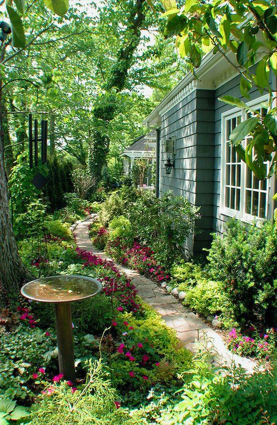 Indpirace - zahrada