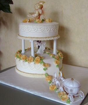 Moje predstavy - naša svadobná torta