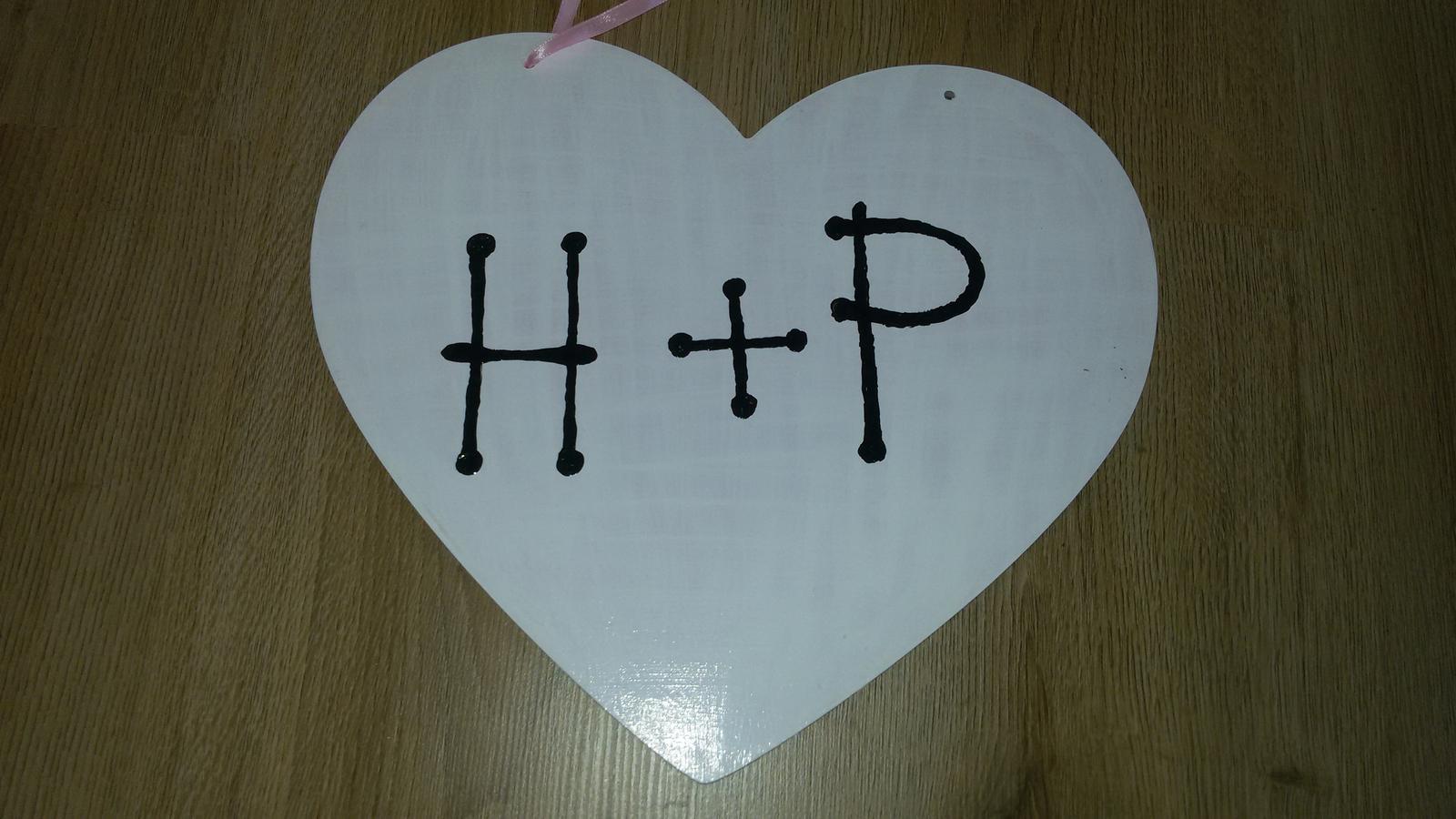 dřevěné srdce - Obrázek č. 1