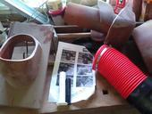 odvetrávací keramický set Tondach nepoužitý,
