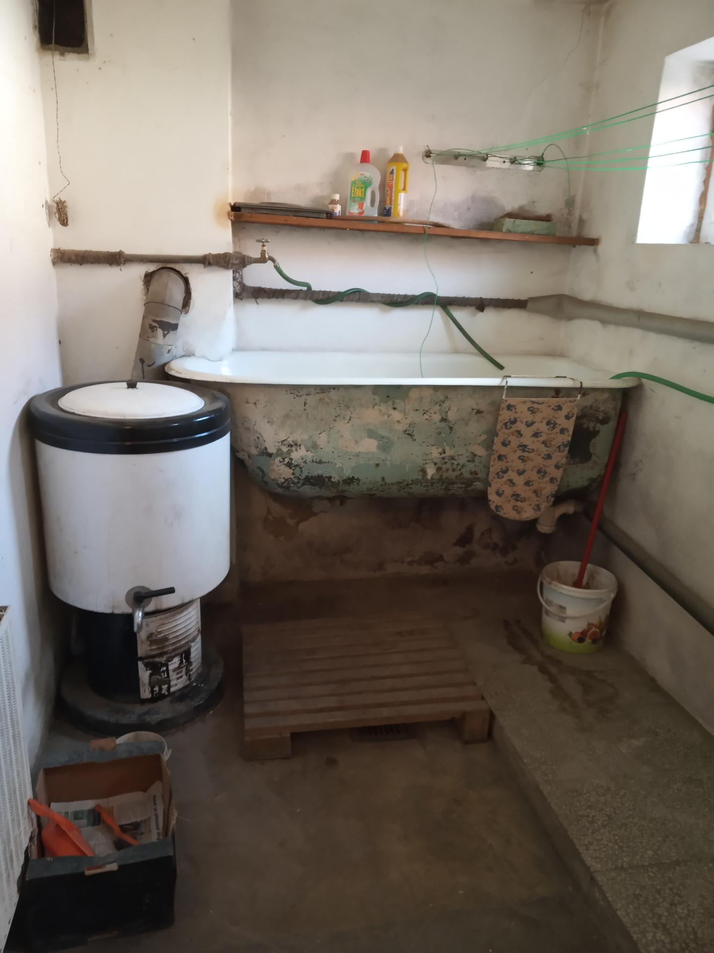 Koupelna - mňamózní prádelna