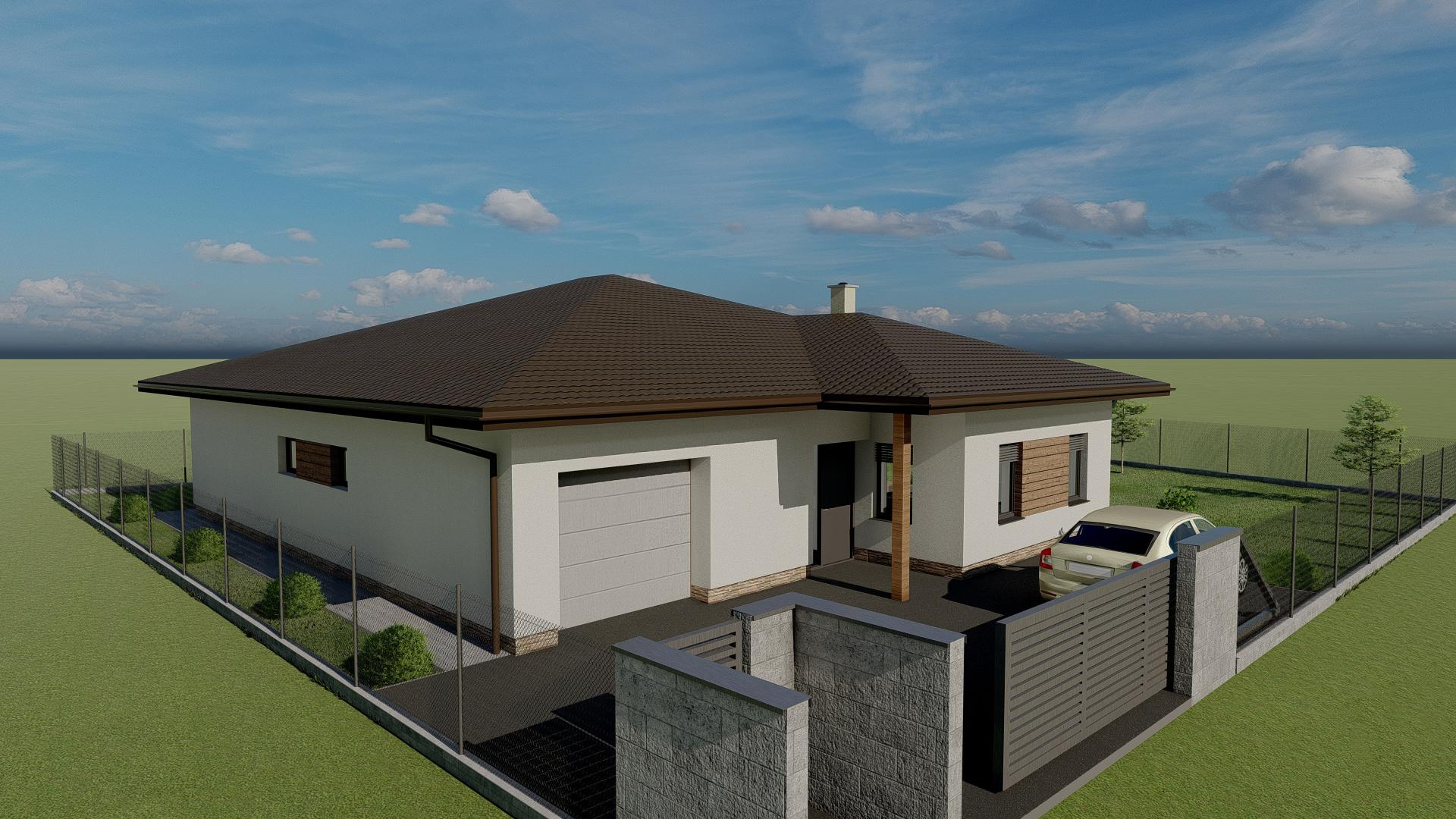 Náš vysnívaný domček ❤️ - Individuálny projekt - vizualizácia