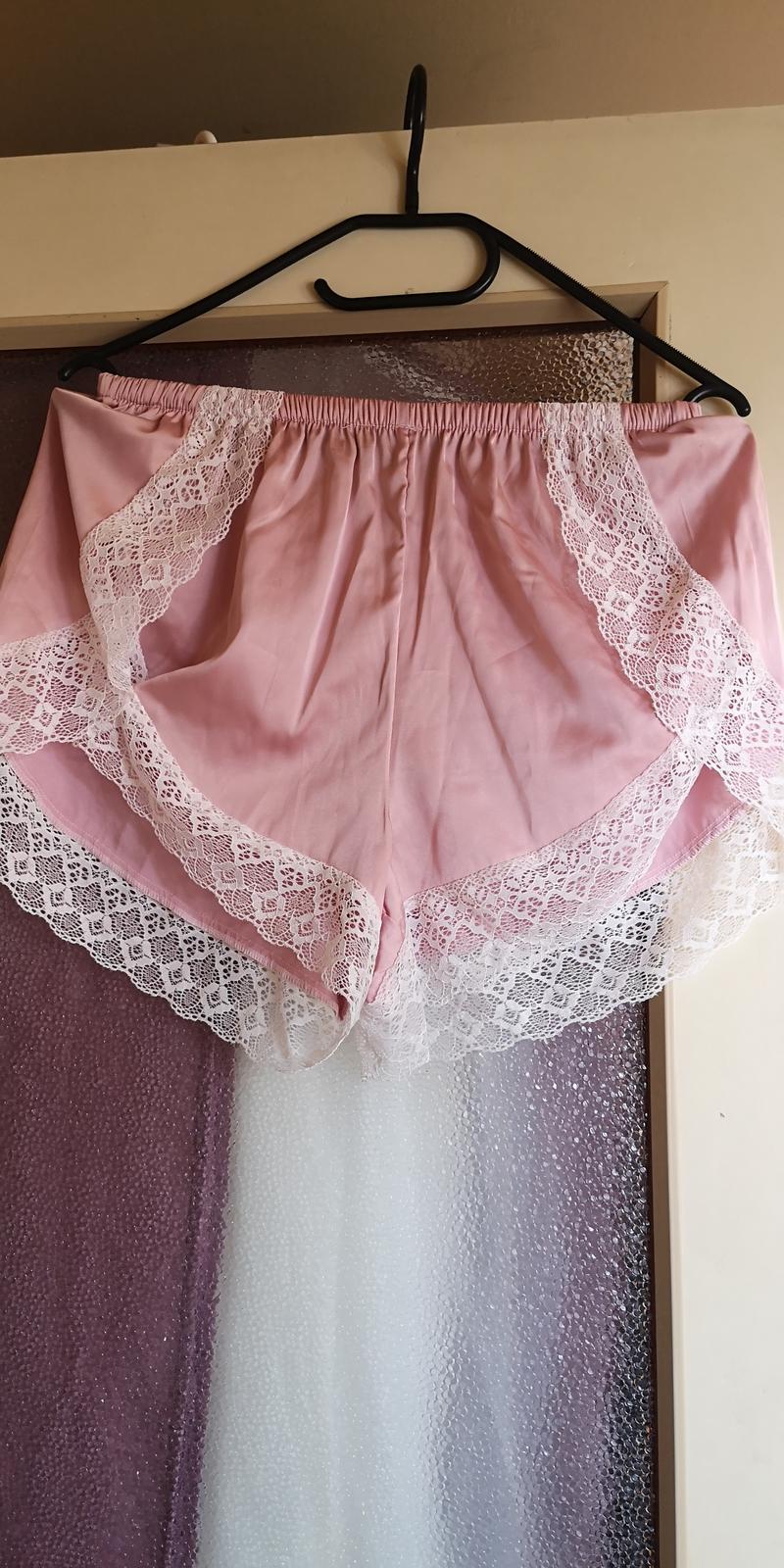 Světle růžový županek a pyžamko - Obrázek č. 2