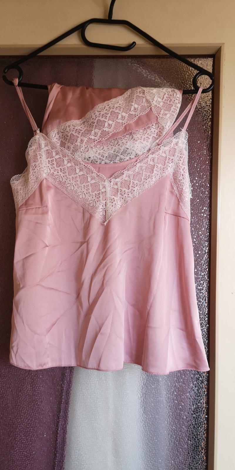 Světle růžový županek a pyžamko - Obrázek č. 3