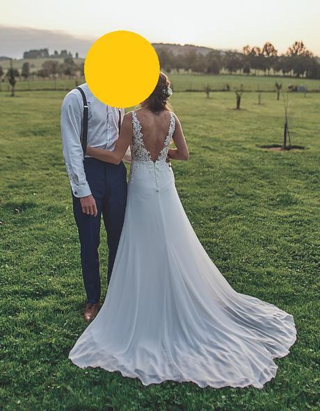 Svatební šaty ivory - Obrázek č. 1