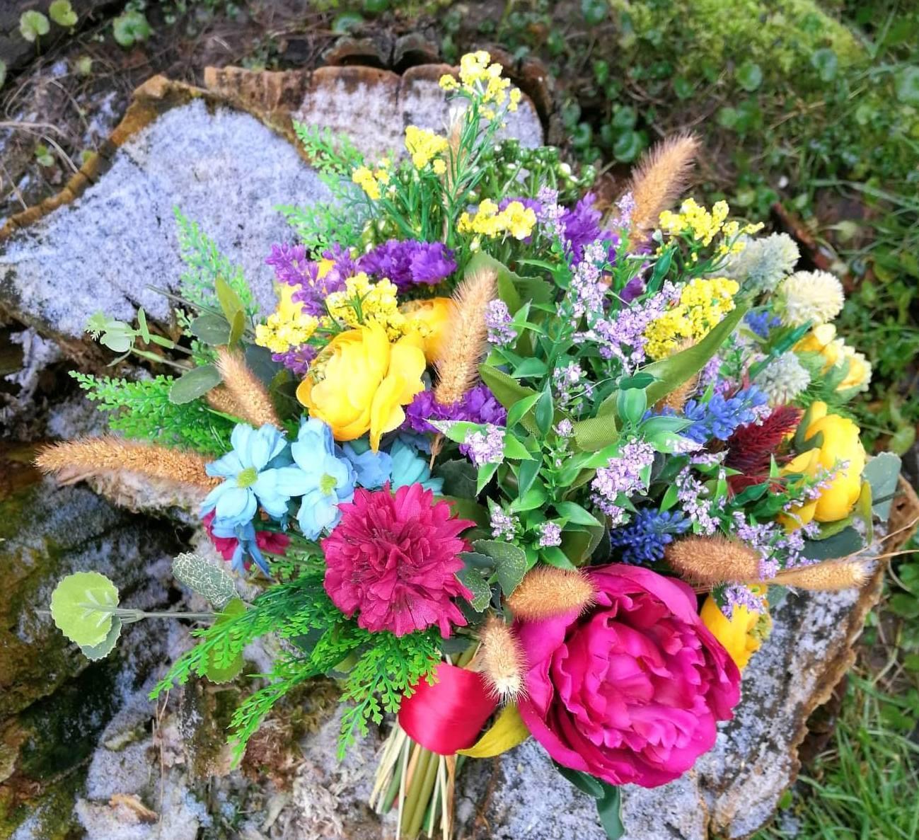 svadobna kytica,pierko,hrebienok - Obrázok č. 1