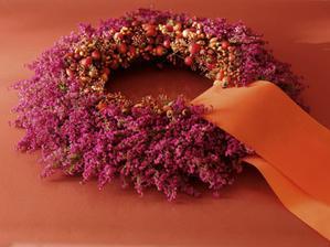 podzimni venec s vresem
