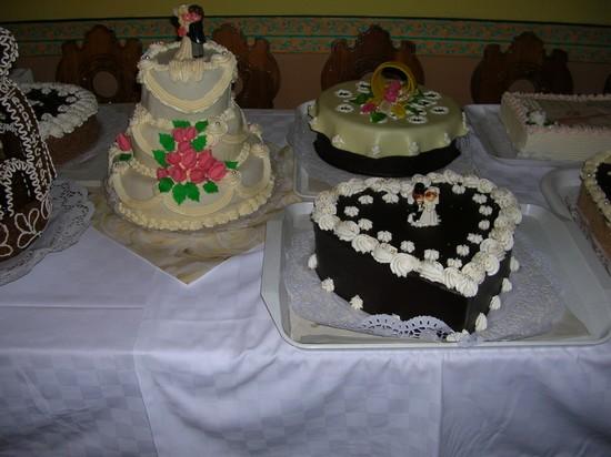 K{{_AND_}}L - svadobná torta