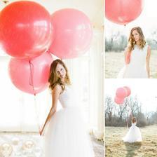 obří balónky na foto dorazily, po jednom kuse bílý, růžový a lila