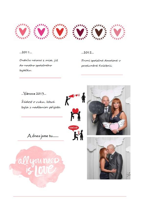 ♥ naše svatební noviny ♥ - Obrázek č. 2