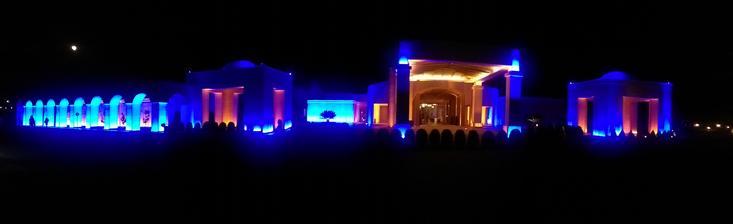 luxusní noční pohled