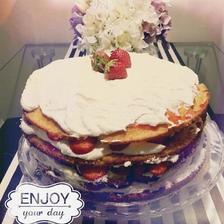 Jahodový dort podle Dity. P