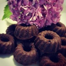 Brownies jako mini bábovka -