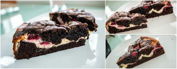 Když nevíš jestli brownies nebo cheesecake :-)