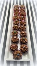 čokoládové s pařížským krémem