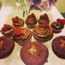 Red velvet cake s čokoládovým ganache