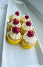 vanilkové s citronovým krémem