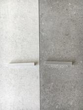 vybrána spárovačka, vlevo rako cemento 63660 a vpravo rako cemento 63661