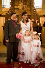 Naši zlatí andílci - všichni je moc obdivovali :-)