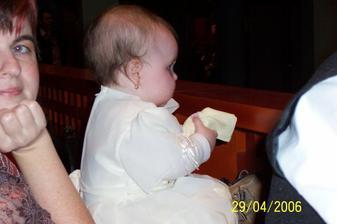 Moje krsniatko Terezka