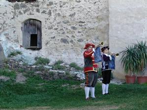historický program na hradě