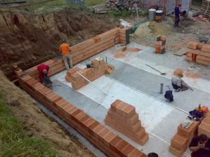 Tak jsme začali stavět