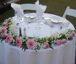 alebo takéto niečo na hlavný stôl?