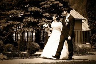 ..prvý manželský krok
