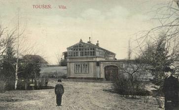 Místo svatebního obřadu: Takhle vypadala Skleněná vila roku 1902...