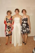 """""""tri grácie"""" - s mámou a sestrou svědkyní"""