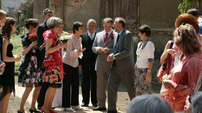 řazení svatebčanů