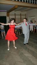 První novomanželský tanec...rumba