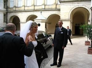 budoucí manžel mě poprvé v ten den uviděl:-)