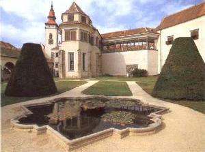 ... ano si řekneme na zámku v Telči ...