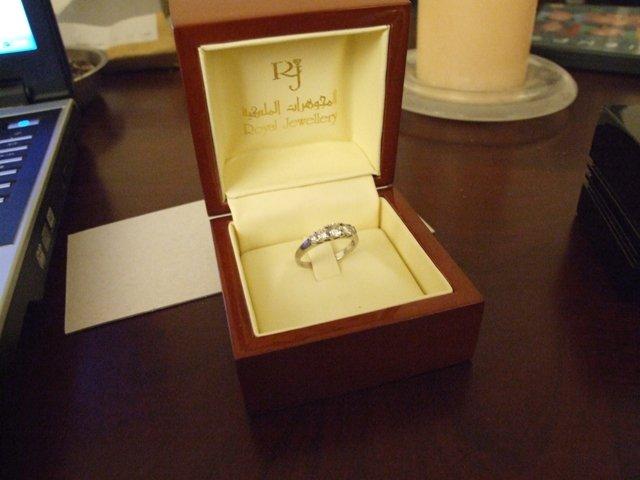 Pripravy - zasnubny prsten